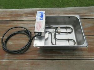 Fisher Dm15w 1d Stainless Steel Commercial Evapoway Condensation Drain Pan