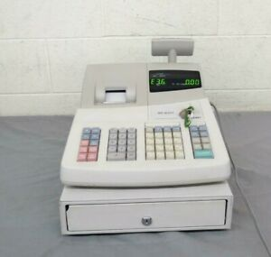 Sharp Xe a201 Electronic Cash Register W 3x Manager Keys Satisfaction Guaranteed