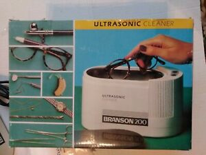 Branson B200 Ultrasonic Cleaner Bu05647 Jewelry Cleaner