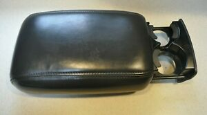 Oem 1998 Jeep Grand Cherokee 5 9 Limited Zj Leather Center Console Lid Arm Rest