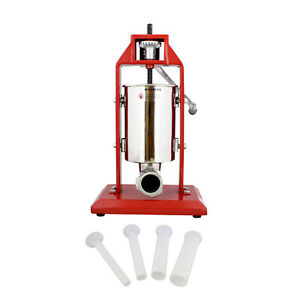 7penn Vertical Meat Stuffer 3l Sausage Stuffer Machine With Vertical Nozzles