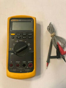 Fluke 87 V True Rms Multimeter Free Shipping Fluke 87v