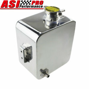 2 5l Aluminum Coolant Radiator Overflow Recovery Water Tank Bottle Universal Usa
