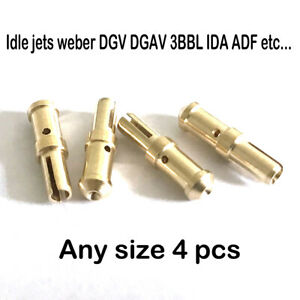 Idle Jets Weber Dgv Dgav 3bbl Ida Adf Etc Carburetor Any Size 4 Pcs