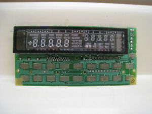 Fluke 45 3002 Rev H Display Module For Fluke 45 Multimeter 814194 Free Shipping