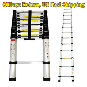 Aluminium Collapsible Telescopic Ladder Extension Foldable Multi purpose Steps