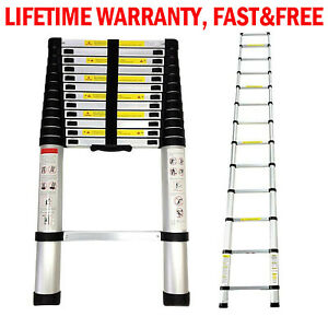 12 5 16 5ft Aluminum Multi purpose Collapsible Telescopic Ladder Extension Fold