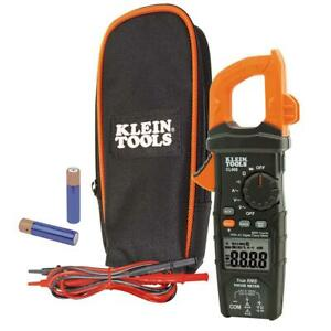Klein Tools Cl600 Digital Clamp Meter Ac dc Auto ranging 600 Amp New