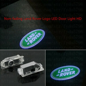 No Fading Land Rover Led Projector Lights Hd Logo Accessory Car Door Lamp Series