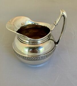 Tiffany Co Sterling Silver Victorian Aesthetic Creamer Pitcher 1873 1891