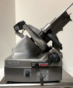 Hobart 2912 Automatic 6 speed 12 Meat Slicer Nsf W Factory Sharpener