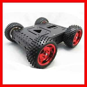 Wifi Robot Car Chassis 4wd Kit Maximum Load 15kg Aluminum Robotics For Raspberry