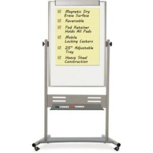 Mastervision Magnetic Dry Erase 2 sided Easel qr5203