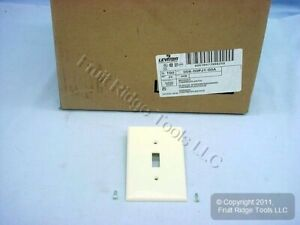 100 Leviton Almond Unbreakable Large Switch Cover Wallplates Switchplates Pj1 a
