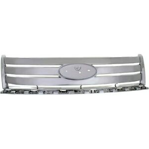 Grille For 2007 2010 Ford Edge Chrome Plastic
