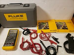 Fluke 88 Automotive Multimeter Kit Mac Et 88 Dmm