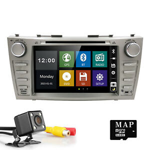 For Toyota Camry 2008 2011 Car Dvd Player Gps Nav Bt Radio Stereo camera map