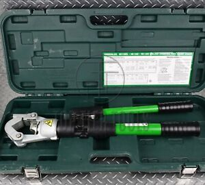 Greenlee Hk12id 12 Ton Indent Dieless Manual Hydraulic Crimper