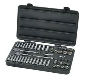 Gearwrench 80550 57 Piece 3 8 Drive 6 Point Socket Set
