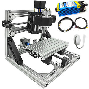 3 Axis Cnc Router Kit 1610 5500mw Diy With Laser Engraver Tools For Wood