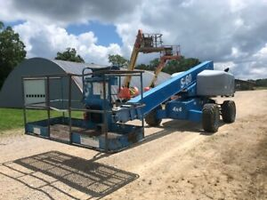 2008 Aerial Telescopic Boom Lift Genie S60 60 Man Lift Diesel 4wd Made In Usa
