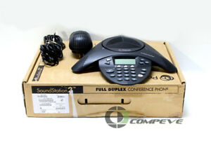 Polycom Soundstation 2 Ex Conference Phone 2201 16200 601 2200 16200 001