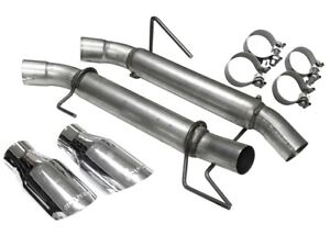 2005 2010 Ford Mustang Gt V8 Roush Muffler Delete Axle Back Exhaust Kit 421915