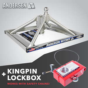 Andersen Hitches 5th Wheel Ultimate Connection With Added Kingpin Lockbox 3220