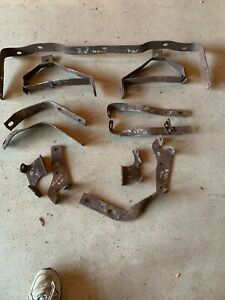 1958 1960 Ford Thunderbird Rear Frame To Bumper Brackets Plus