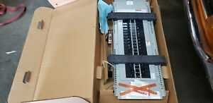 2 eaton Cutler hammer Prl1a Power r line Panel Bd 100a 208 120v 3ph W breakers