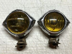 Unique Pair Vintage Blc 4 1 2 2020a Fog Lights Lamps Hot Rat Rod Car Old Truck