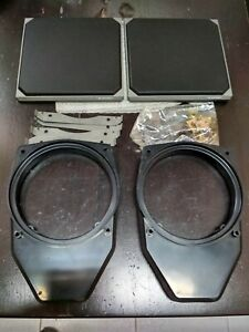 Bmw E36 Blaupunkt Rear Speakers Mounting Parts new Nla