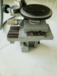 Leitz Wetzlar Forensic Bullet Comparison Microscope Rotating Multi Axis Stage