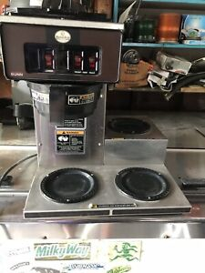 Bunn O Matic Commercial Stainless Steel Coffee Maker Works Good