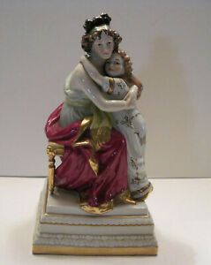Exquisite Antique Porcelain Figure A W Fr Kister Germany Scheibe Alsbach