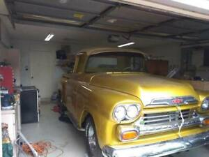 1958 Chevrolet Apache 1 2 Ton Pickup Parts Truck Project