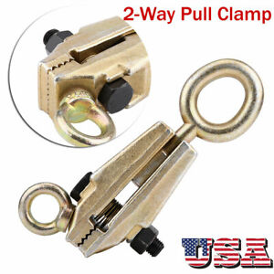 5 Ton Heavy Duty Frame Back Self Tightening Grips Auto Body Repair Pull Clamp Us