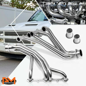For 84 91 Chevy Gmt C k 5 0l 5 7l Stainless Steel 8 2 Long Tube Exhaust Header