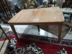 Old Vintage Heywood Wakefield Dining Room Table Mid Century Modern Mcm Furniture