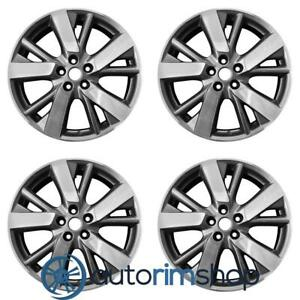 New 20 Replacement Wheels Rims For Nissan Pathfinder 2013 2014 2015 2016 Set Ma