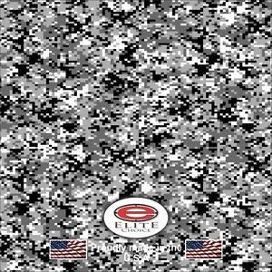 Digital Snow Camo Decal Wrap Vinyl 52 X15 Truck Print Real Camouflage