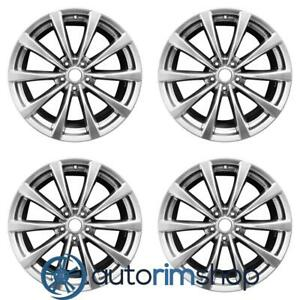Infiniti G37 2008 2011 19 Factory Oem Staggered Wheels Rims Set