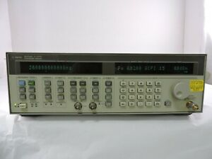 Agilent 83752a Synthesized Sweep Generator 10mhz To 20ghz Ships Today