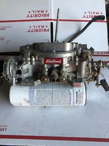 Edelbrock 1406 4 Barrel Carburetor With Electric Choke
