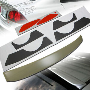 Civic 8th 8 Jdm Roof Spoiler Headlight Round Taillight Stickers For Hon