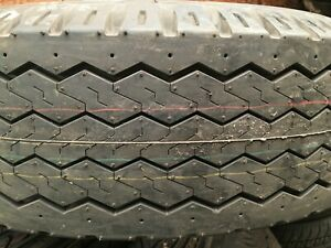 875x16 5 Tire Power King Super Highway 10 Ply Truck Trailer