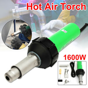 220v 1600w Hot Air Torch Plastic Welding Torch Gun Nozzle For