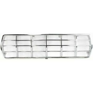 Grille For 78 79 Ford F 150 Bronco Chrome Plastic