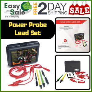 Ess Power Probe Lead Set Car Diagnostic Test Tool Self Centering Piercing Wires