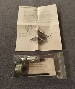 Kingsley Hot Stamp Machine E z Foil Adapter New